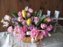 春色いっぱい!チューリップ&スイトピー