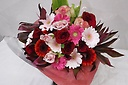 カラフル Bouquet 赤&pink