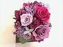 プリザードフラワー Purple