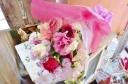 ★ピンク 赤系★かわいい おまかせ花束