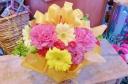 ★母の日 カラフル★リボン付き アレンジ花