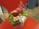母の日・花いっぱいプリザーブドフラワー