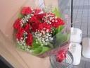 母の日定番 カーネーションの花束
