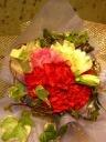 母の日 定番 カーネーションの花束