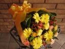 ガーベラの黄色い花束