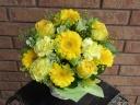幸せの黄色いアレンジメント