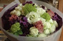 chic white bouquet