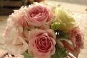 pink&white arrangement