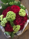 Red&Green bouquet