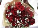 レッドローズの花束