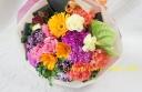 カラフルミックスな花束