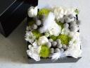 BOXアレンジメント(ホワイト・グリーン)