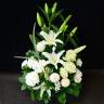 【お供え花】 -HOSHI- 白