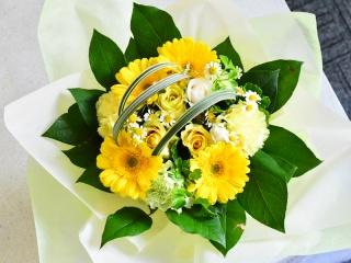 幸運の黄色い花束を!!