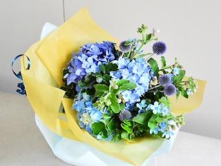 水色の花束