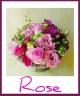 ◆ヴィベール◆大輪のバラで優雅なアレンジ