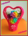 ★RAINBOW★ 虹色の珍しいカーネーション