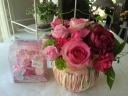バラのパレード♪ 《バラアレンジ+バラの入浴剤》