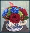 Royal Blue ティーカップ