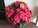 ◆アール・ヌーヴォ◆茶色の様なピンク 豪華