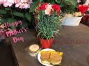 お母さんの笑顔が見れる贈り物★花鉢&お菓子