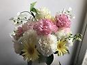 ◆優◆ 優しい色目の供花アレンジ