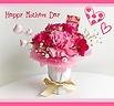 母の日ブーケ♪ 可愛い花瓶つき