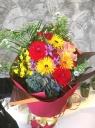 xxおまかせMIXカラーの花束xx