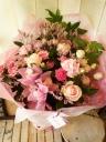 花束「ピンク・グラデーション」