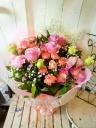 花束「キューティーピンク」