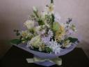 春の小花のお供え花