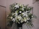 ホワイト系スタンド花