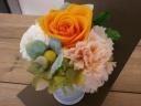 オレンジバラがキュート!!