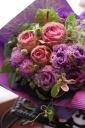 Purple arrangement