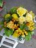 黄色のお花いっぱいで