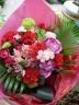 ビビットな花束