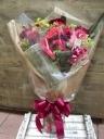 赤色花束50