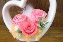 大輪のバラを贅沢に☆ピンク