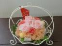 優しいピンクバラ☆プリザ