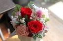 *真紅のバラ*でありがとうを伝えます!