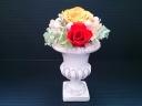 プリザーブドフラワー(陶器花瓶)