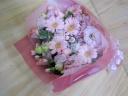 ピンク系の御祝花束
