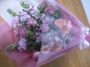 ピンクの花束 恋花