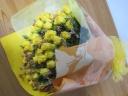 黄色の花束 イエローブーケ