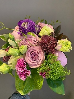 purple bouquet**