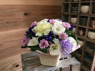 想い出をありがとう、ペットのお供え花