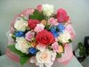 ◆花さらり ピンク・レッド系 アレンジ♪