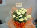 ◆花さらり カーネーションの花鉢♪