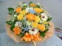 ◆花さらり  イエロー・オレンジ系 アレンジ♪