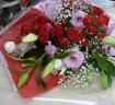 PINK&RED系花束♪